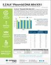 Plasmid DNA Purification - E.Z.N.A.® Plasmid DNA Mini Kit I - Sales Sheet
